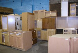 Unassembled Kitchen Cabinets