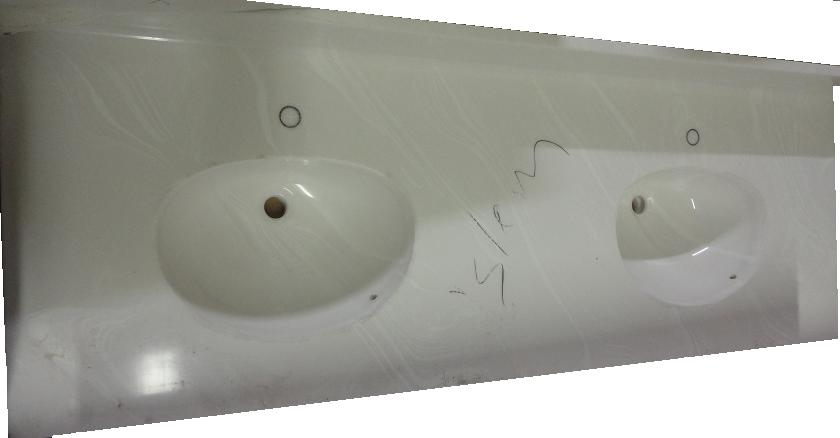 Pleasant New Corian Counter Tops W Molded Sinks The Stock Pile Download Free Architecture Designs Scobabritishbridgeorg