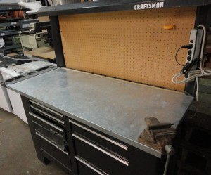 8 Foot Craftsman Workbench 200 The Stock Pile